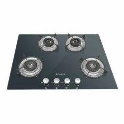 Stainless Steel HTG 654 CRS LBK EL AL Kitchen Hobs