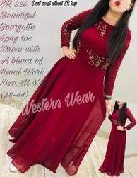 Designer Western Long Dress