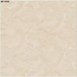 Ivory Ceramic Gloss Nano Polished Vitrified Tiles, Thickness: 8 - 10 mm, Size: Medium