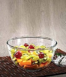 Round Tempered Glass La Opala Mixing Bowl