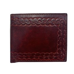 ESHTA Male Genuine Leather Men Wallet