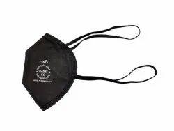 Reusable Black Color N95 Face Mask