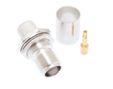 TNC Female Jack Connector For LMR400 Coaxial Cable