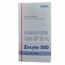 Zecyte 500mg Abiraterone Tablet