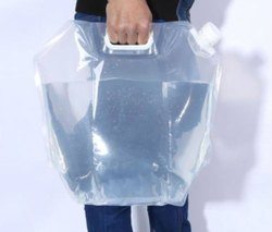 Transperent Spout Pouch With Handle
