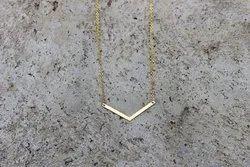 Little Chevron Necklace