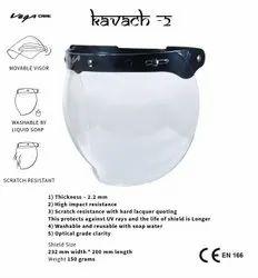 PC face protection shields Kavach 2