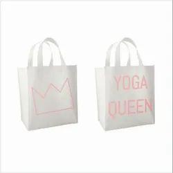 Yoga Non Woven Stitch Tote Bags