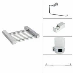 Square Bath Accessories For Home, Size: Medium