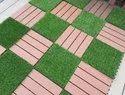 WPC Outdoor Waterproof Interlocking Floor Tiles Balcony Floor Tiles Wood Decking