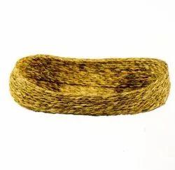 Sabai Sea Kauna Grass Handicrafts Colorful Naan Tokris / Basket, Size/Dimension: 12