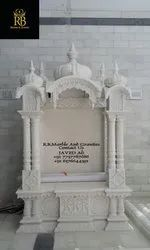 White Marble Temple, For Home, Polished