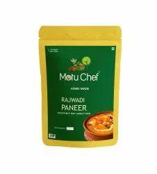 Motu Chef Onion And Garlic Rajwadi Paneer Vegetable Gravy Dry Mix, Packaging Size: 60 Grams, Packaging Type: Pouch