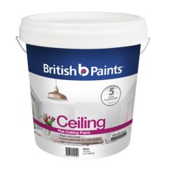 British  Flat Ceiling Paint