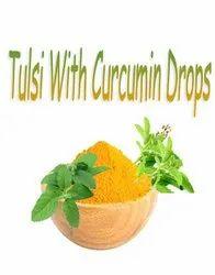 Tulsi with Curcumin Drops