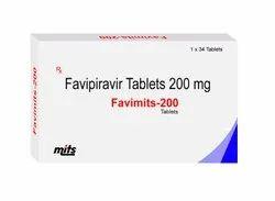 Favimits Favipiravir 200 Mg Tablets
