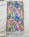 Beautiful Diamond Silk Digital Print Fabric
