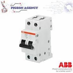 ABB - SB202M - 2A - 4A  / 2 Pole - MCB