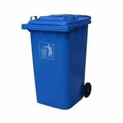 120 Ltr Wheel Garbage Dustbin