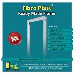 Readymade Door Frames, For Room,Bathroom, Grade Of Material: Frp
