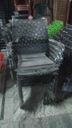 Semi Web Chair With Arm