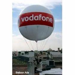 Vodafone Advertising Sky Balloon