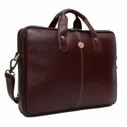 Hammonds Flycatcher Original Bombay Brown Leather 13 inch Laptop Messenger Bag
