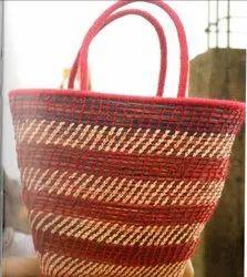 Handicraft Sabai Sea Kauna Grass Multipurpose Bag
