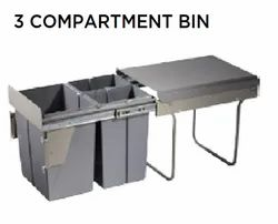 3 Compartment Bin