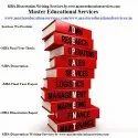 MBA Project Report Writing Services