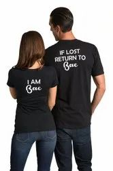 Round Neck Cotton Promotional T-Shirt Printing in Faridabad
