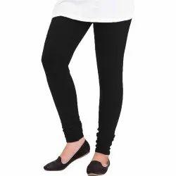 SwaNit Regular Ladies Plain Woolen Lycra Legging, Size: Medium