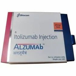 Alzumab Itolizumab 25mg/5ml Injection
