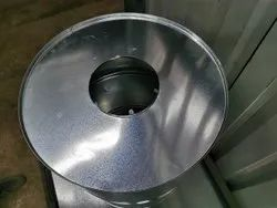 Semi - Liquid Galvanize Steel Full Open Mouth Barrel 210 Litres, For Chemical