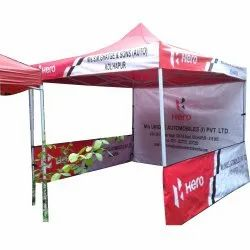 Printed Advertisement Tents