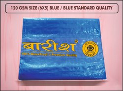 Blue Waterproof Tarpaulin Sheet