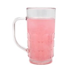 Polycarbonate Plastic Unbreakable Juice Beer Drinking Mug For Hotel 250Ml