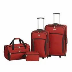 Canvas, Polyester Plain Suitcases and Travel Bags