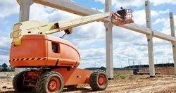 Telescopic Boom Lift Man Lifts Rental Service, Minimum Rental Duration: 2 months