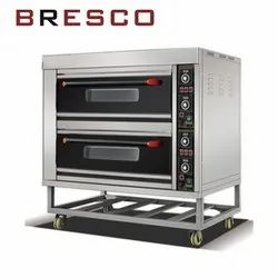13.2 Kw Bresco Electric Bakery Oven 2 Deck 4 Tray