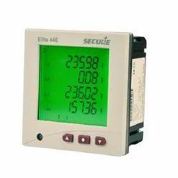 secure,elmasure Three Digital Energy Meter, For Industrial, 440