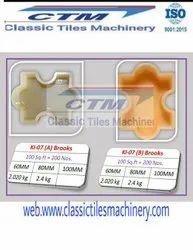 Interlocking Paver Block PVC Mould