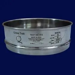 Globetrek Testing Sieves With NABL Calibration Certificate