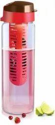 Brand World Infuser Plastic Fruit Infuser Bottle
