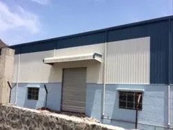 Mild Steel Prefabricated Industrial Factory Shed