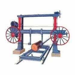 MILD STEEL HORIZONTAL BANDSAW WITH TROLLY