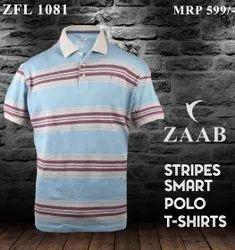 Cotton/Linen Men Printed T Shirt