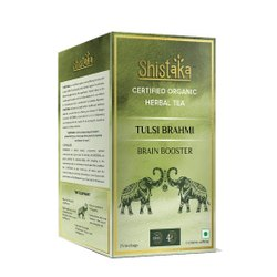 Organic Tulsi Brahmi Green Tea