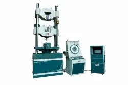 CI Front Opening Hydraulic Grips Universal Testing Machine, Capacity: 10 T To 200 T, Size: Standard