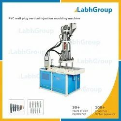 Mild Steel Vertical Injection Molding Machine For Pvc Wall Plug, Up To 100 Gm, Up To 55 Tons